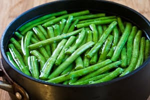 Lemony Green Beans with Lemon Juice and Lemon Zest from KalynsKitchen.com