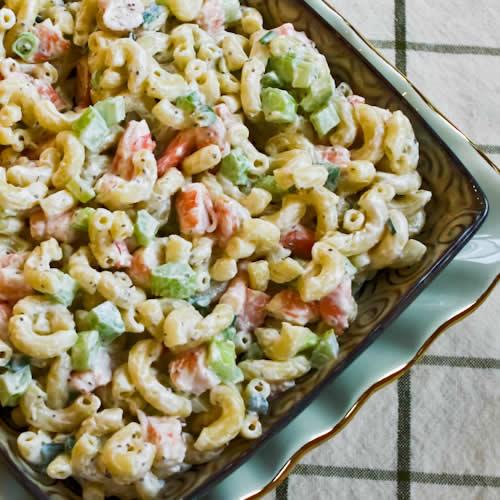 Paleo Easy Seafood Pasta Salad
