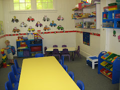 "Our Downstairs Classroom ""The Learning Room"""