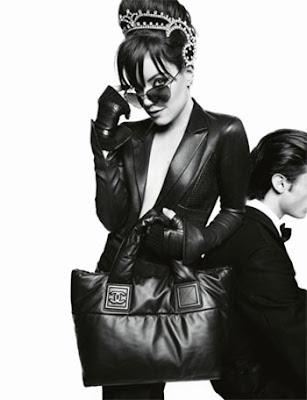 Рекламная кампания Chanel, Карл Лагерфельд, Лили Аллен, Lily Allen, Karl...