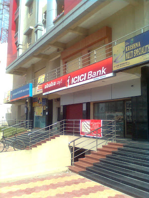 location icici bank