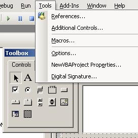 VBA Tips & Tricks: VBA Additional Contols not enabled in