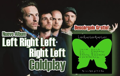 Resultado de imagen de left right left right left coldplay