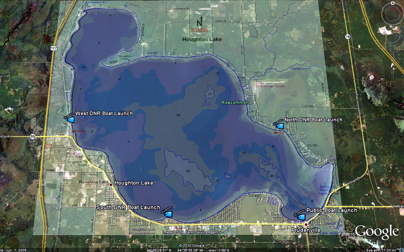 Houghton Lake Walleye Report: Houghton Lake