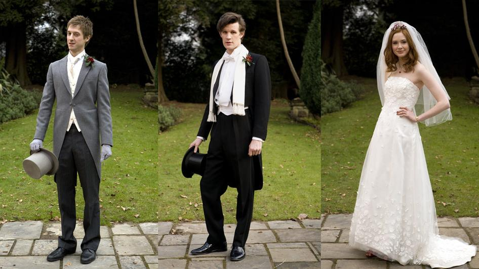 The Inside Trekker Doctor Who  Rory and Amys Wedding Album