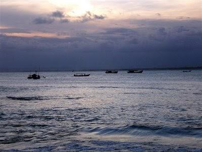 Pangandaran Beach Of West Java Indonesia