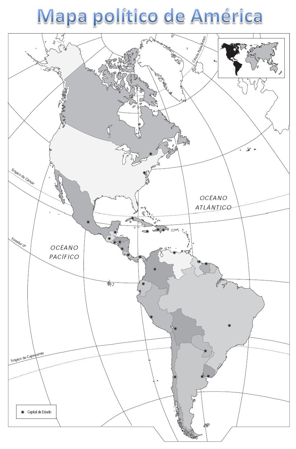 Geografía América | Todos no somos mamiferos