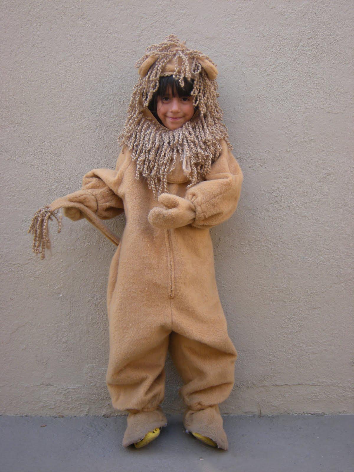 Lion Halloween Costume Women Diy