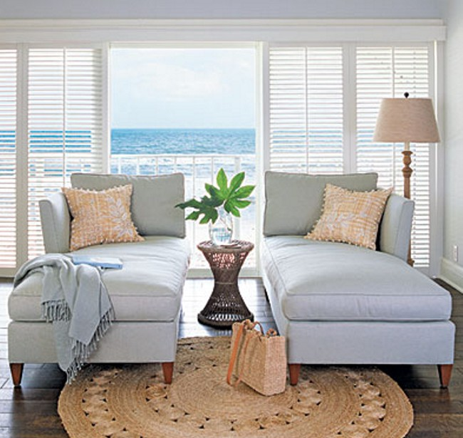 Cozy Coastal Living Room: House Plans: Coastal Living