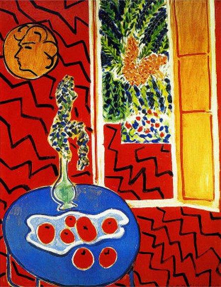 Flores y Palabras Henri Matisse Ventanas