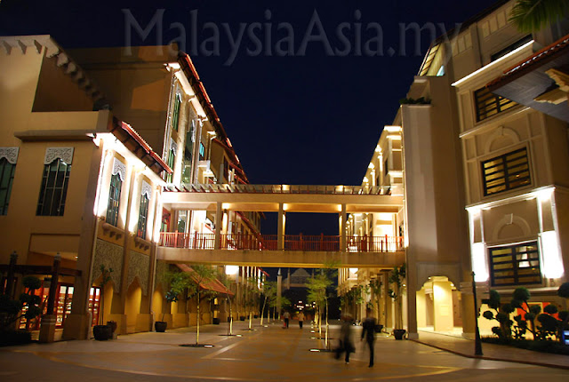 Night Photo of Pullman Putrajaya