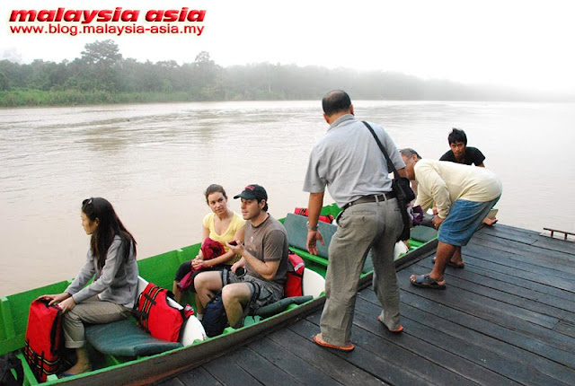 River Cruise at Kinabatangan
