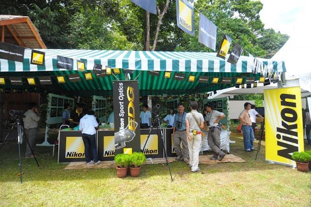 Borneo Bird Festival Nikon booth