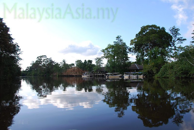 Pictures of Klias River in Sabah