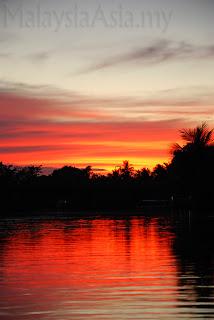 Orang Sky sunset Sabah