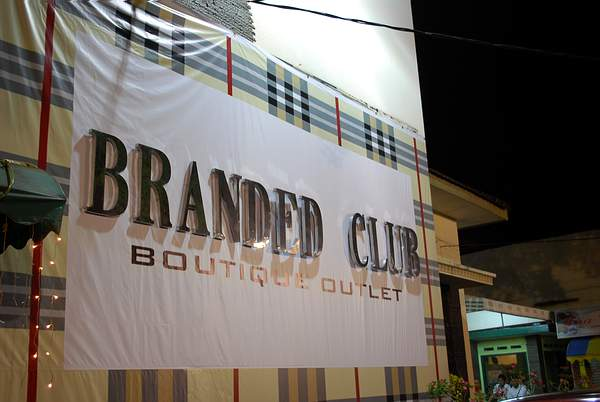 Bandung Branded Club Boutique Outlet