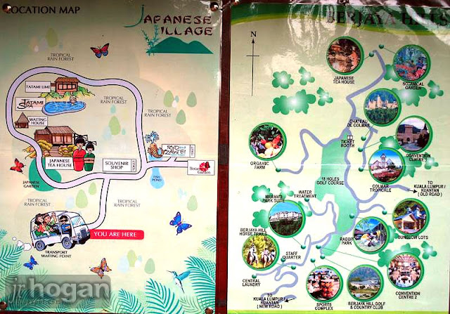 Berjaya Hills Resort Map