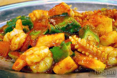 Asam seafood dish