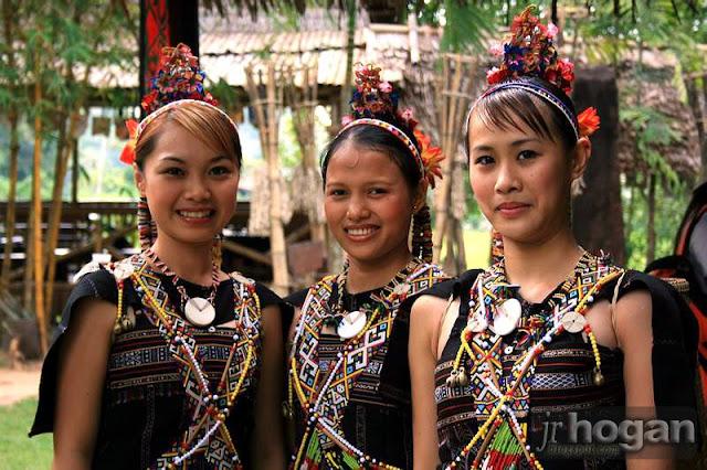 Dusun Girls from Sabah
