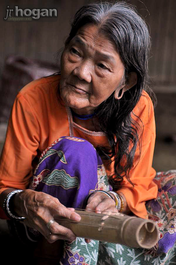 Elderly Penan Lady