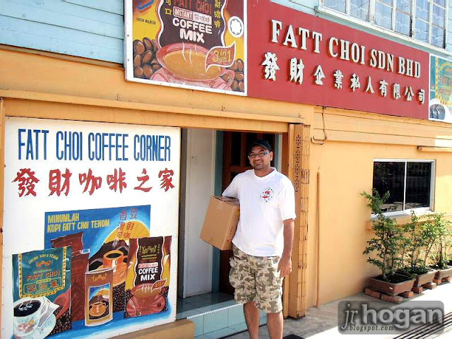Shop selling Tenom Coffee