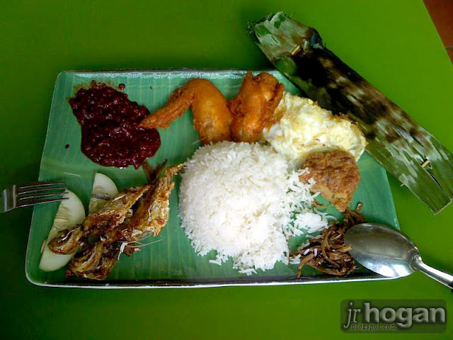 Royal Rumble Nasi Lemak Set