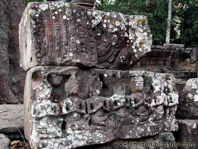 Ta Prohm Temple Stone Carvings