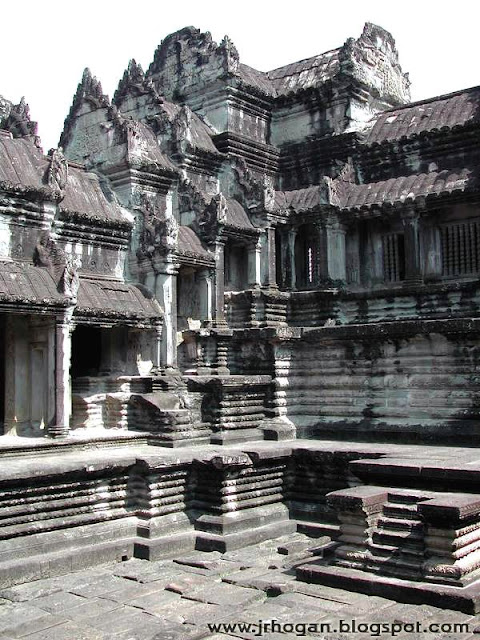 Angkor Wat Temple Inside