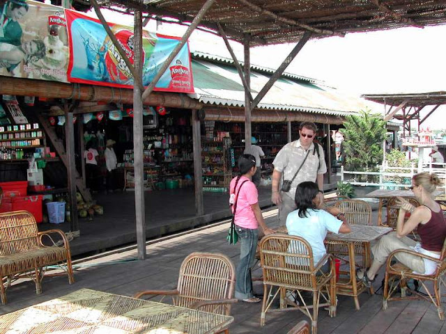 Tonle Sap Lake Tourists