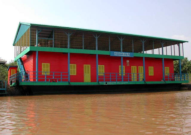 Tonle Sap Floating School
