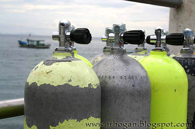 Tioman Island Scuba Diving Tanks