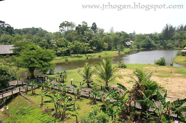 View of Sarawak Cultural Village
