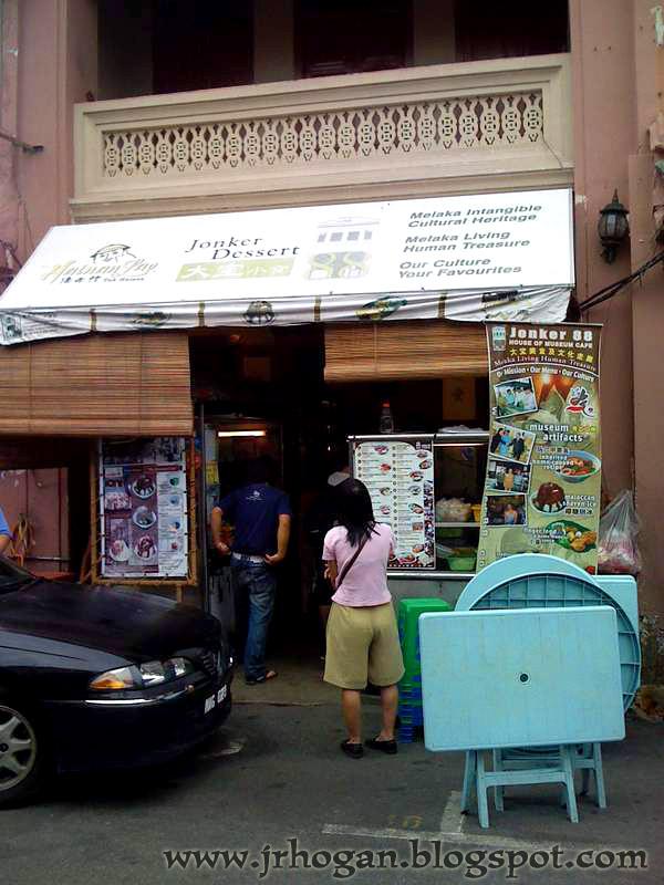 Melaka Jonker Street Dessert Cafe