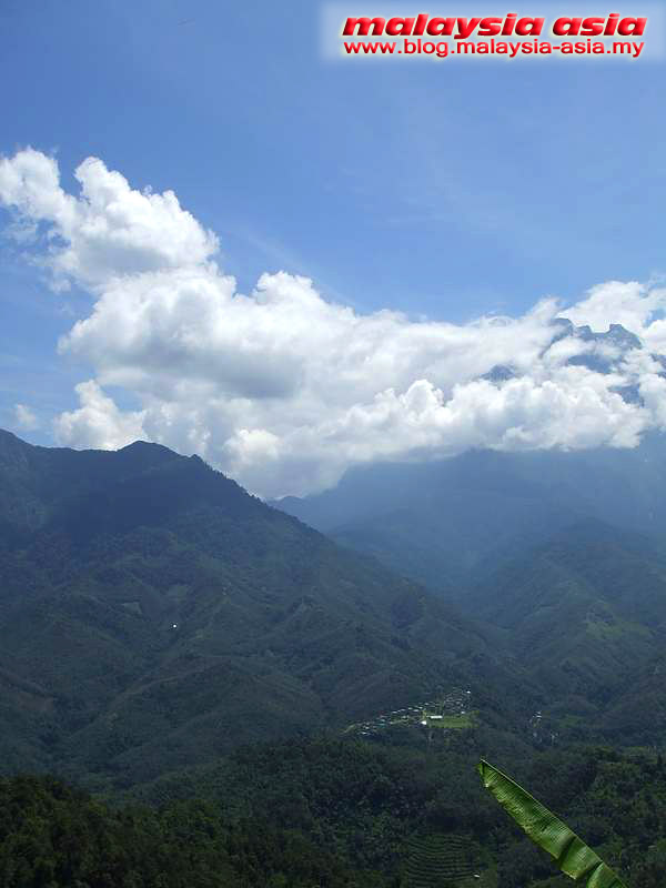 Valley at Kinabalu
