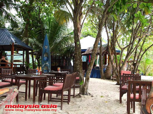 Restaurant Outdoor Coral View Island Resort