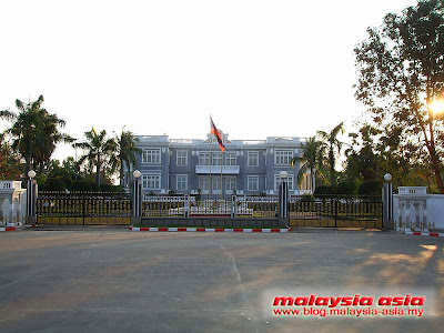 Vientiane Presidential Palace in Laos
