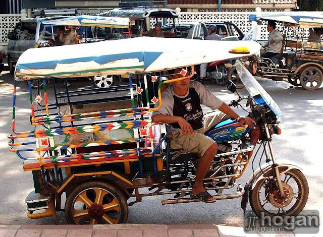 Jumbo Tuk Tuk Vientiane Laos