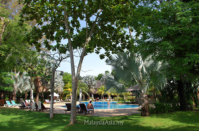 Swimming Pool Rebak Island Resort