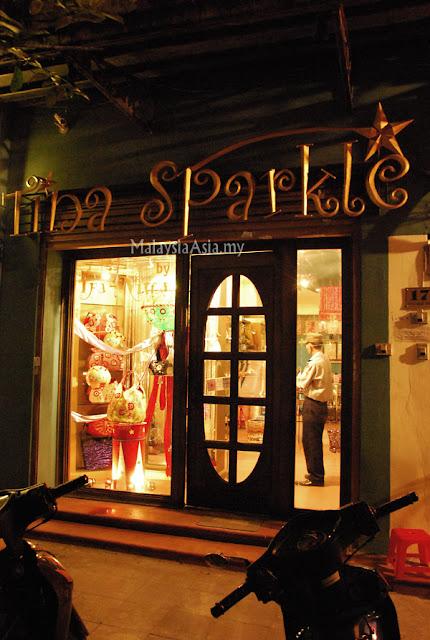 Tina Sparkles Shop in Hanoi, Vietnam