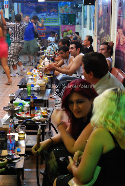 Shisha joint in Pattaya