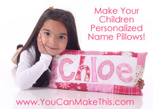 You can make this pillow