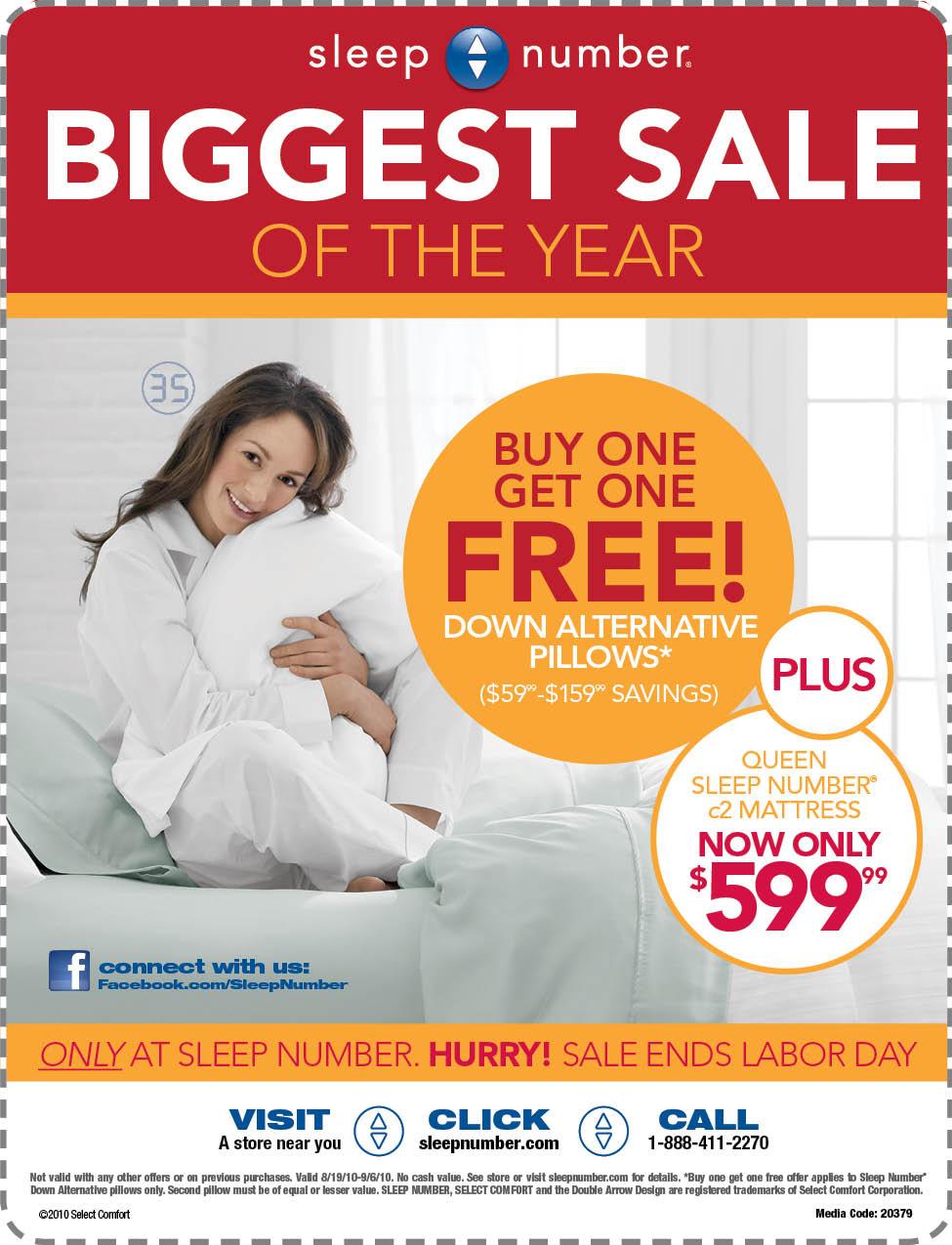Deal Alert! Sleep Number Sale. – Born 2 Impress