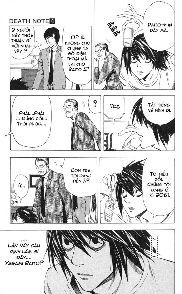 Death Note chapter 034 trang 10
