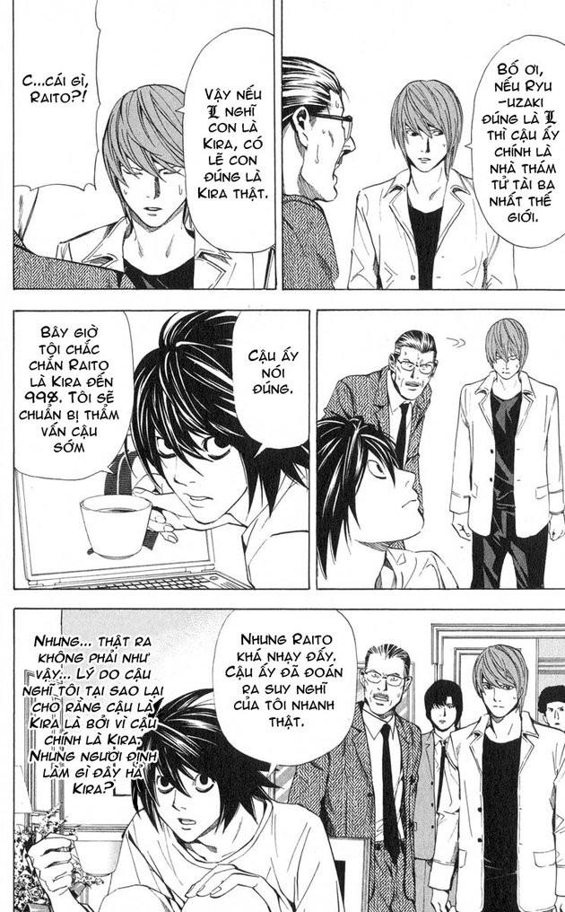 Death Note chapter 034 trang 13