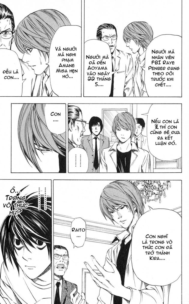 Death Note chapter 034 trang 14
