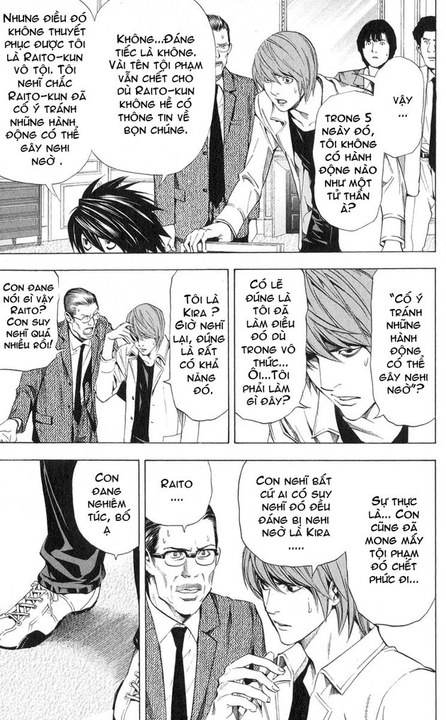 Death Note chapter 034 trang 16