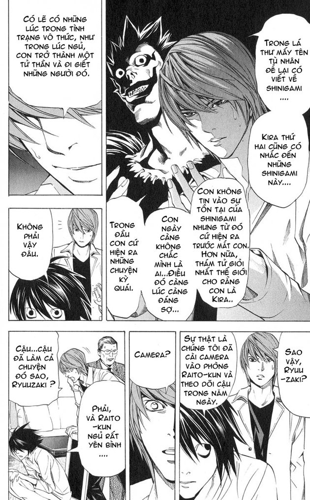 Death Note chapter 034 trang 15