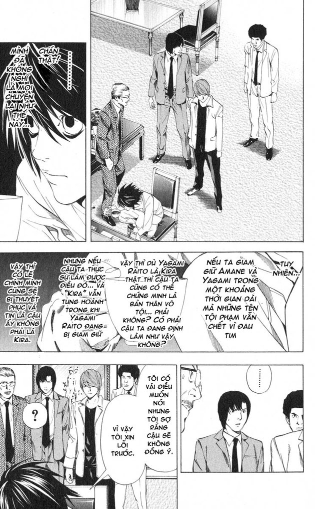 Death Note chapter 034 trang 18