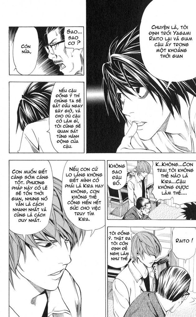 Death Note chapter 034 trang 19