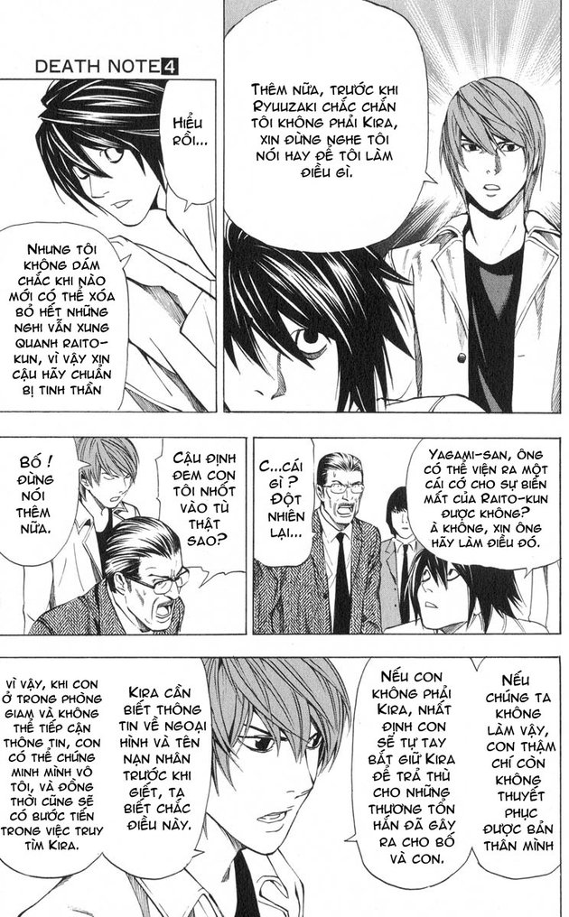 Death Note chapter 034 trang 20